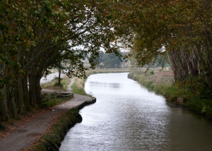 Canal du Midi at Homps