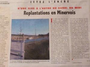 Page 2  of La Semaine du Minervoise (Jeudi 30 Janvier 2014)
