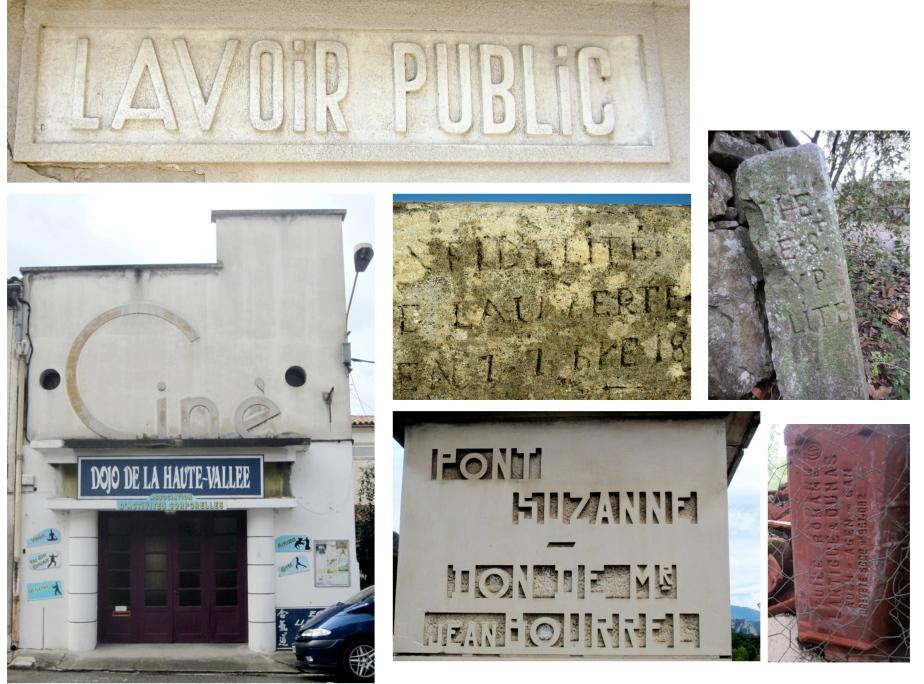Stone fonts