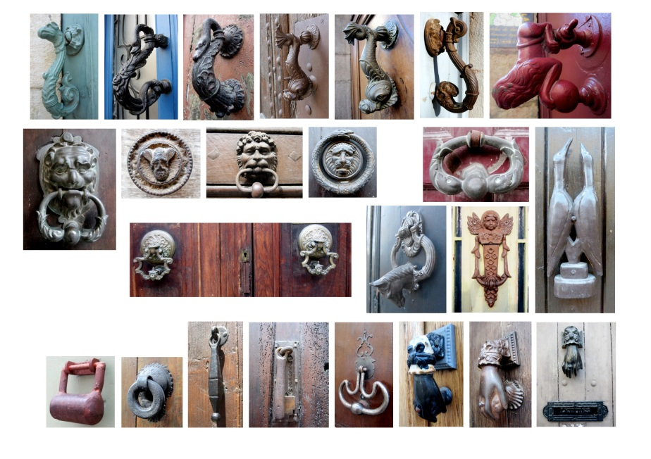 Door knockers of France