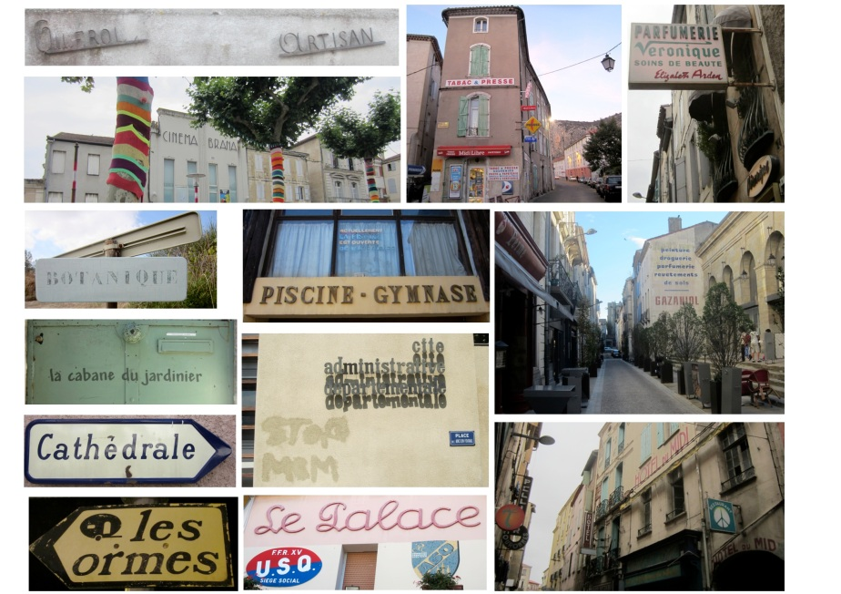 Fonts, Shops and Door knockers from our year in the south of France!