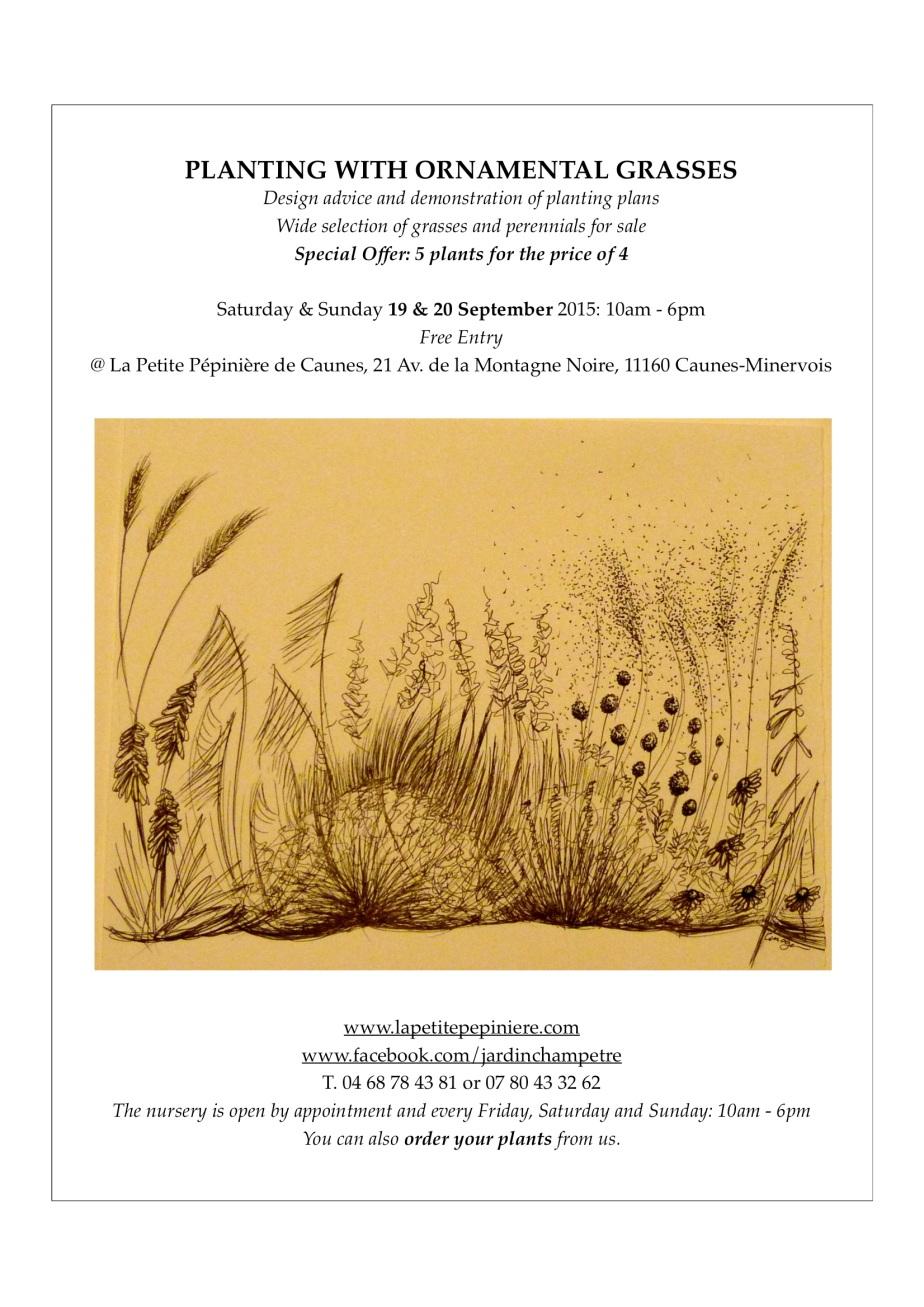 Ornamental Grasses / GraminéesOrnamentales